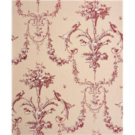 CHANTILLY CORNE D ABONDANCE ROUGE/TAUPE