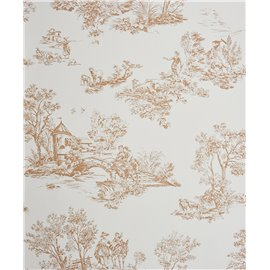 CHANTILLY GRAND MOTIF JOUY BEIGE